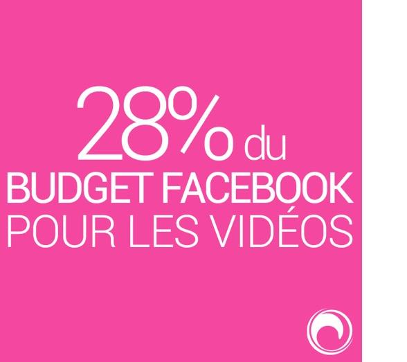 budget vidéo facebook