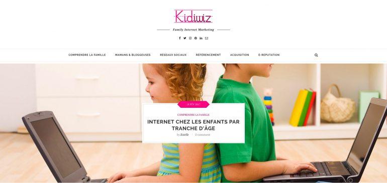 Onelead lance Kidiwiz, un portail dédié au Marketing de la cible Parents-Enfants-Famille